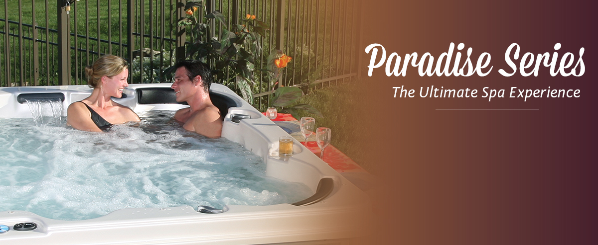 QCA Spas Paradise Series Hot Tubs | QCA Spas